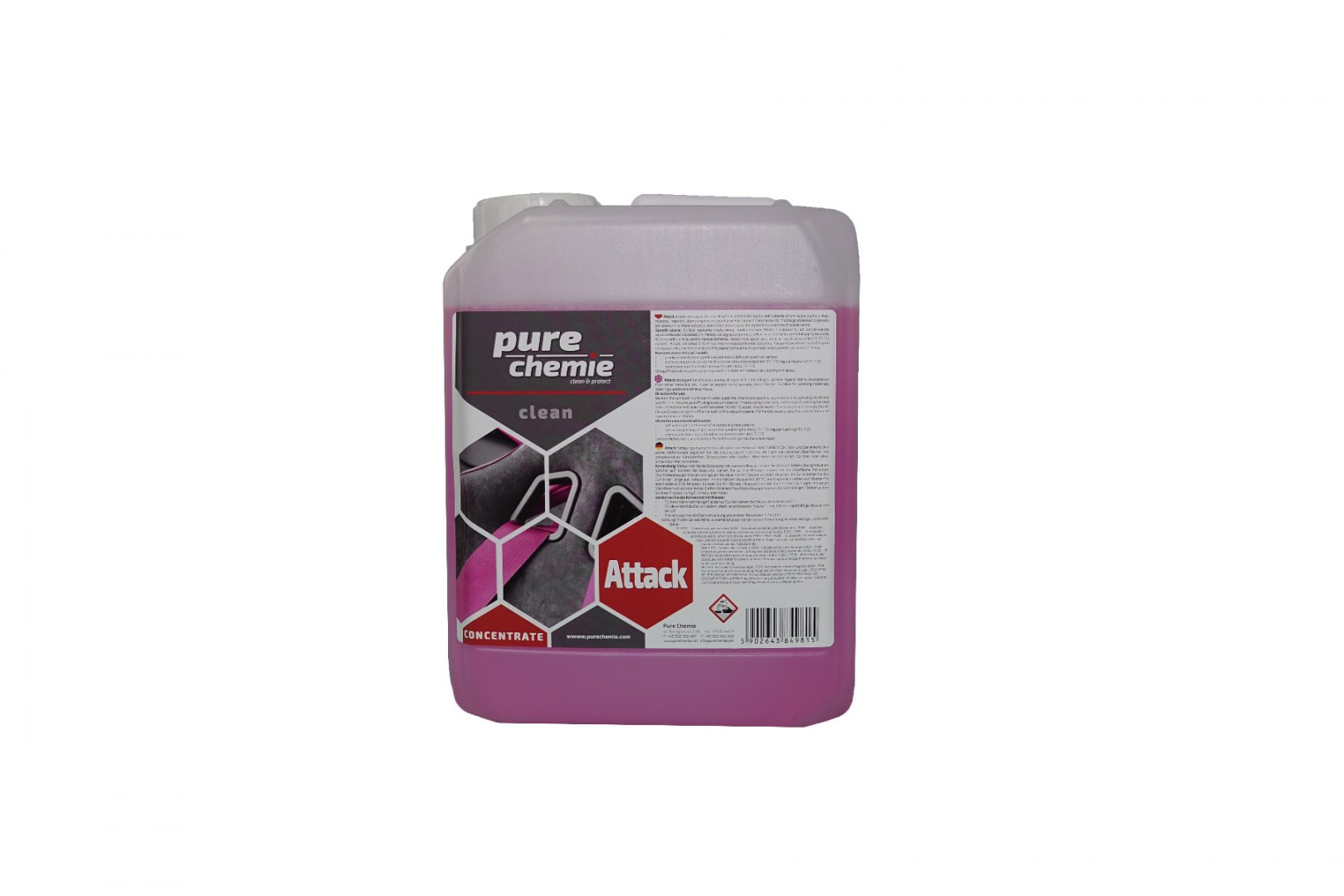 Pure Chemie Attack 5L (All Purpose Cleaner) - GRUBYGARAGE - Sklep Tuningowy